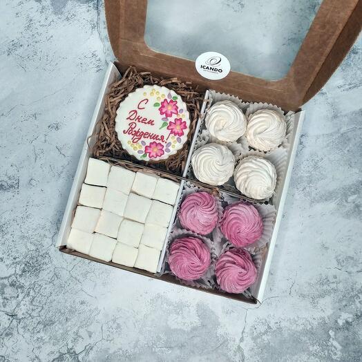 """""""На День Рождения"""" 2, подарочный набор сладостей"""