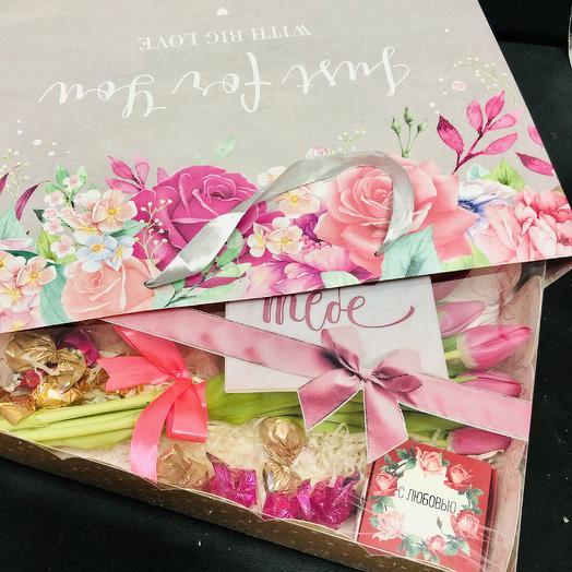 «For you»: букеты цветов на заказ Flowwow