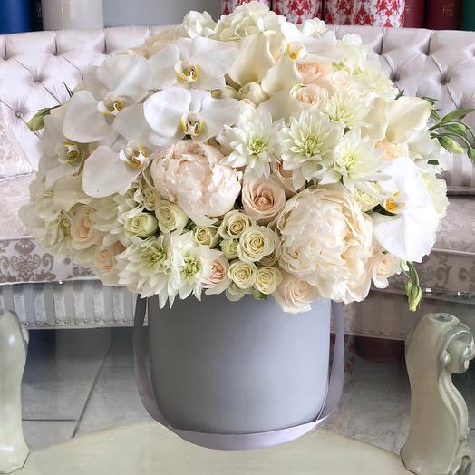 Коробка с цветами Luxury Flowers Для Тебя