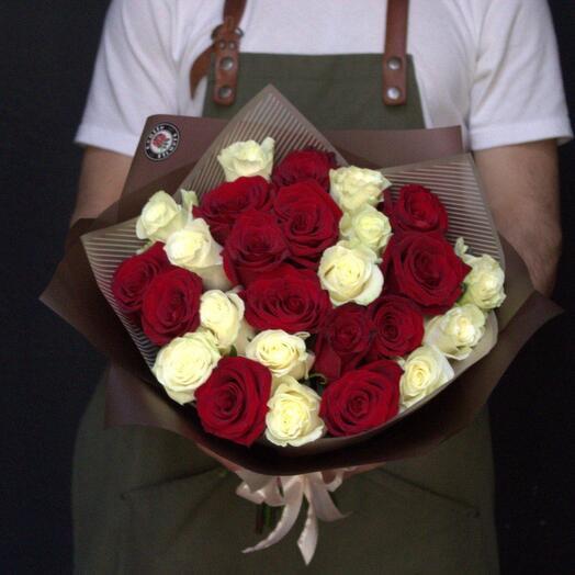 25 голландских роз 🔥