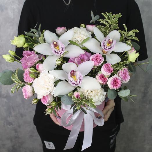 Коробка с цветами «Амстердам»