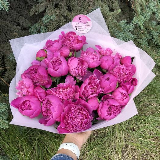 Самые ароматные пионы: букеты цветов на заказ Flowwow