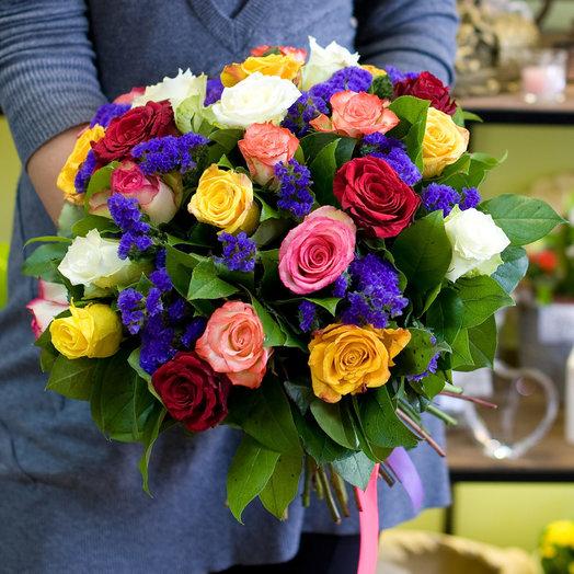 Букет цветов Яркий: букеты цветов на заказ Flowwow