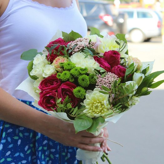 Букет Рэд Грин: букеты цветов на заказ Flowwow