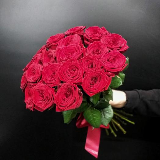 Ароматные бархатные розы
