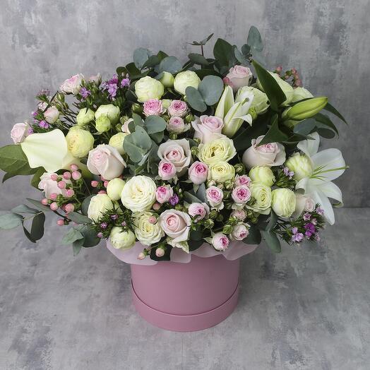 Коробка с цветами «Венеция»