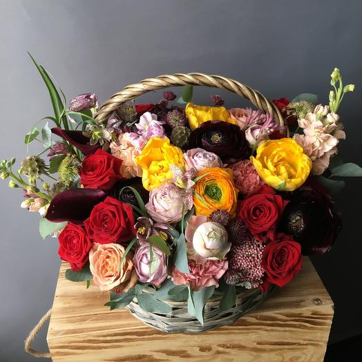 Весенний фьюжн: букеты цветов на заказ Flowwow